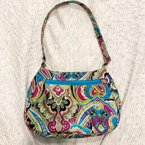 Vera Bradley Daphne silk handbag limited edition